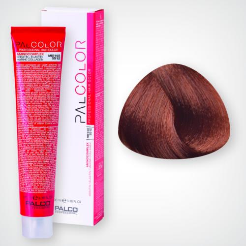 Крем-краска для волос PALCO 7,43 блонд средний медно-золотистый 100 мл