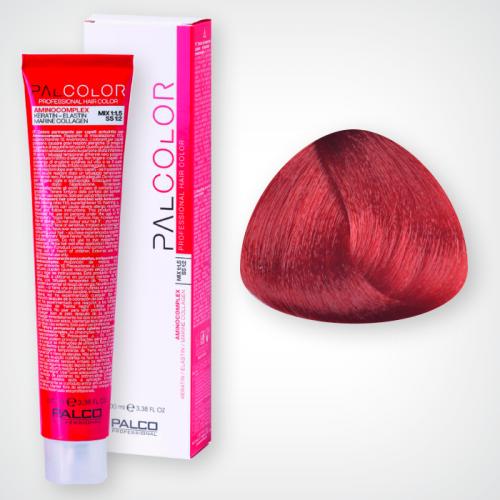 Крем-краска для волос PALCO 7,66 блонд светлый интенсивно-красный 100 мл