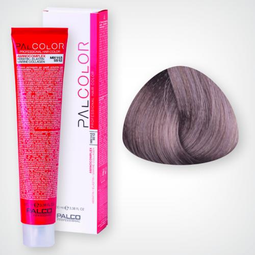 Крем-краска для волос PALCO 8,1 блонд светлый пепельный 100 мл